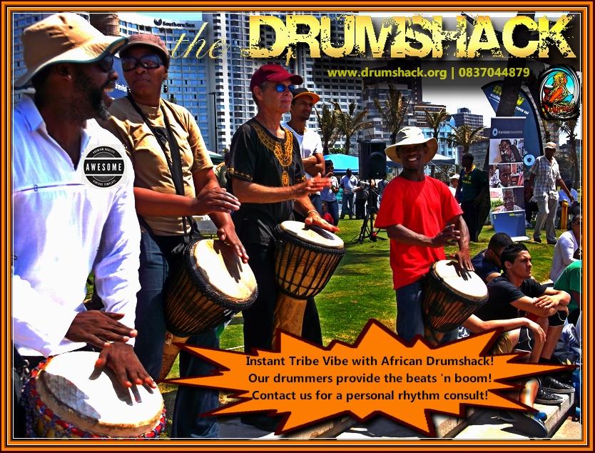 AFRICAN DRUMSHACK BEACH EVENT DURBAN
