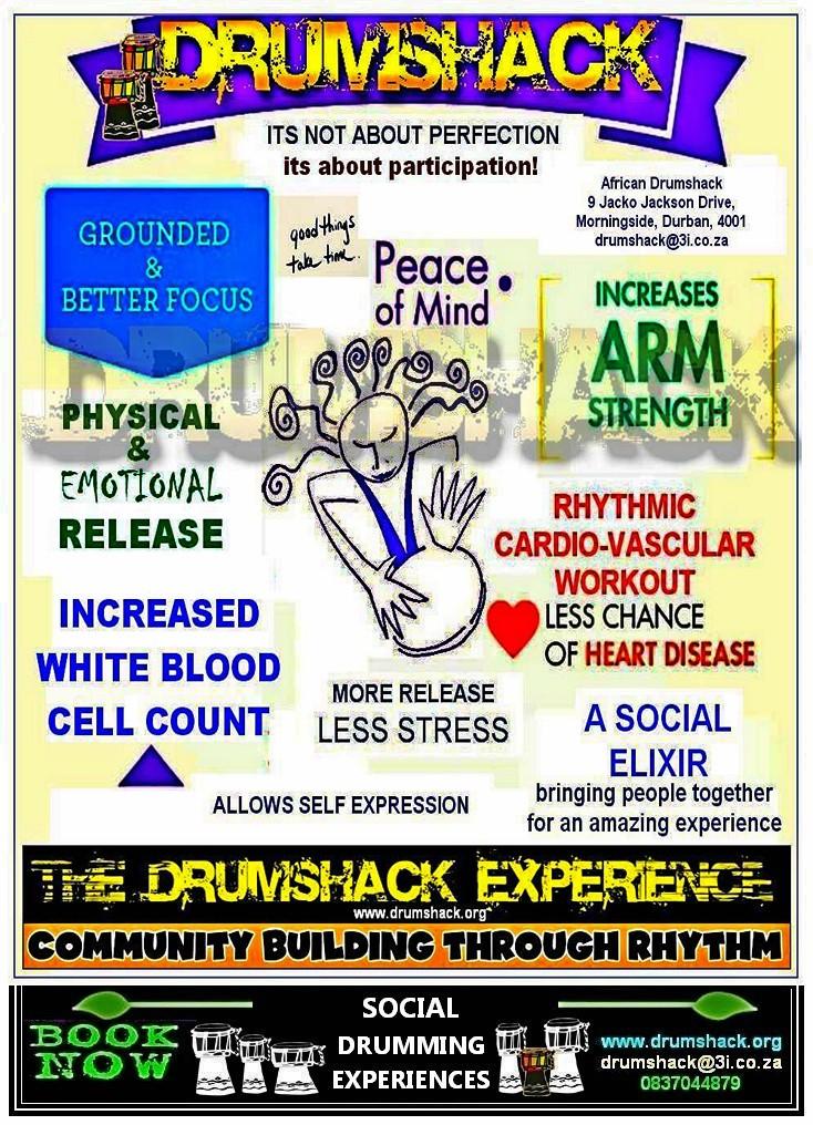 DRUMSHACK  EXPERIENCE WELLNESS DRUMMING 02