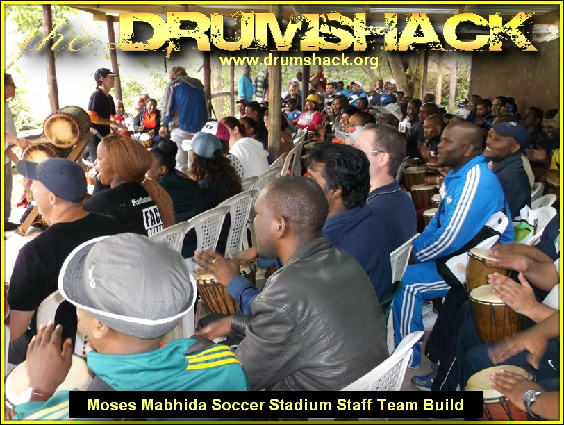 MOSES MABHIDA SOCCER STADIUM STAFF TEAM BUILD MAY 2014