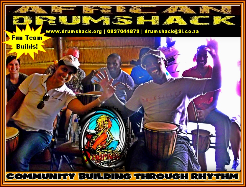 african drumshack corporate team builds 226