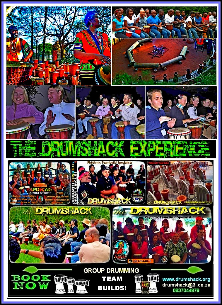DRUMSHACK  EXPERIENCE TEAM BUILDS 02