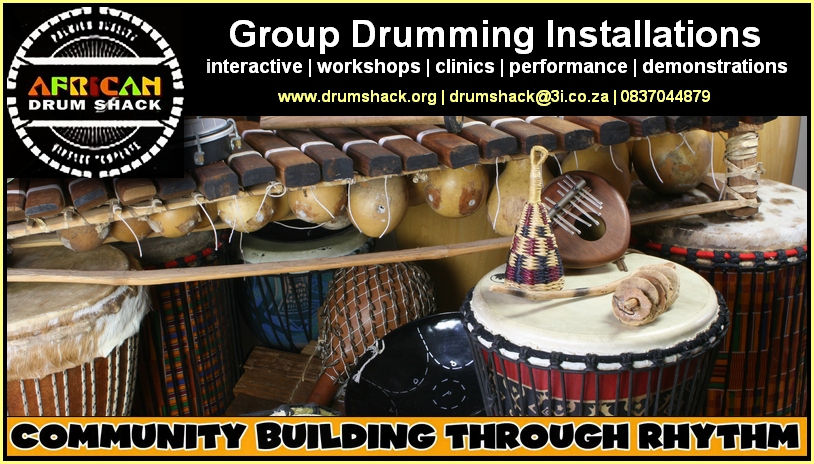 drumshack group drumming 1