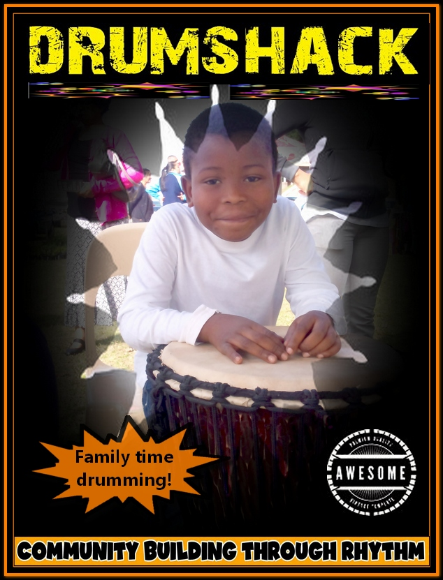 BITHDAY DRUMMING WITH AFRICAN DRUMSHACK POP UP DRUM CIRCLE - Copy