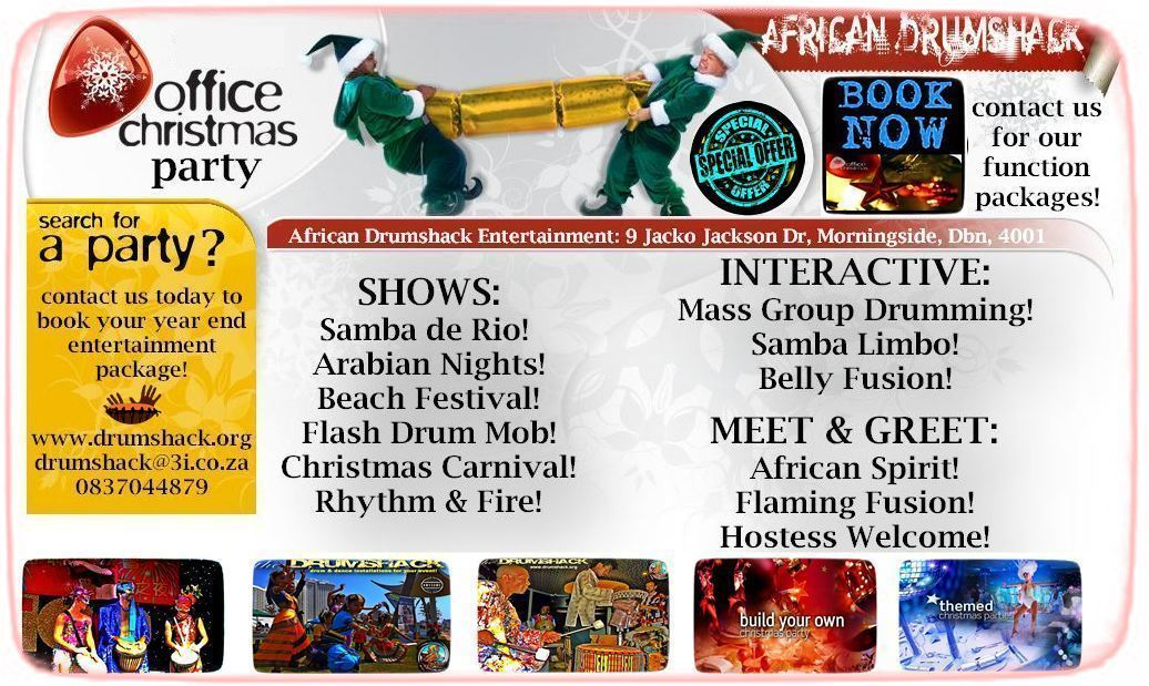 AFRICAN DRUMSHACK ENTERTAINMENT CHRISTMAS 2015 a