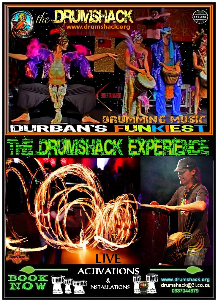 DRUMSHACK  EXPERIENCE LIVE ACTIVATIONS & INSTALLATIONS