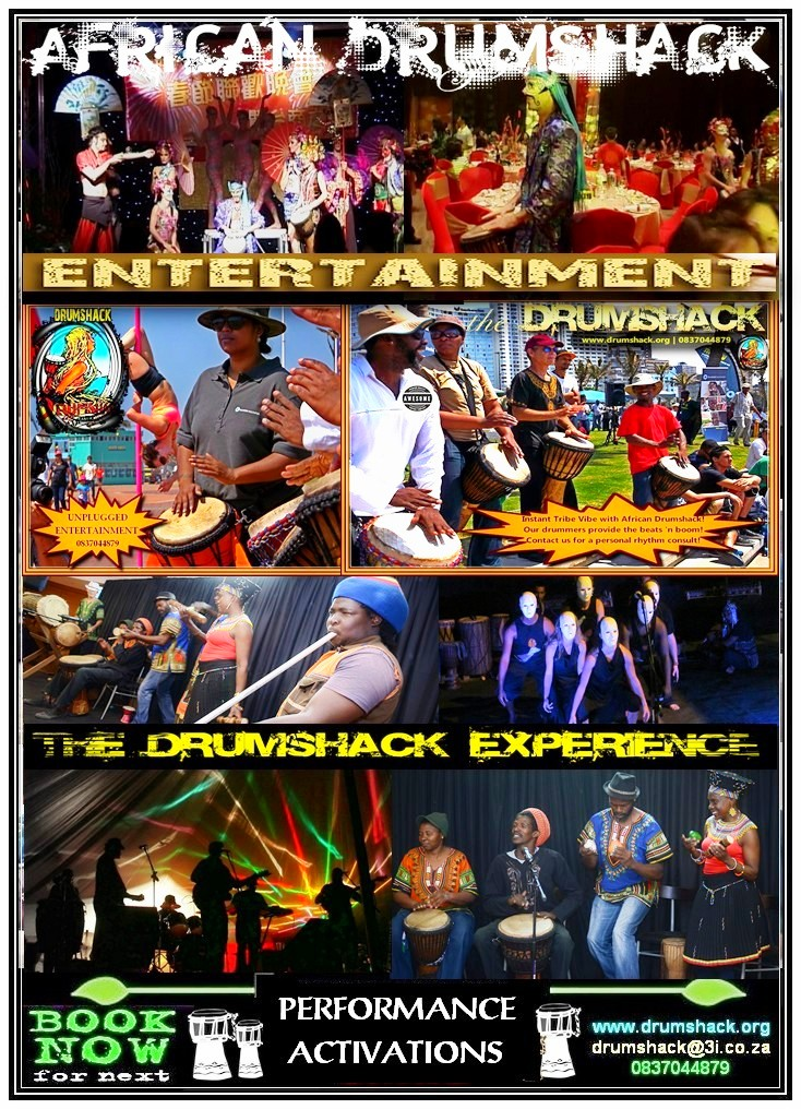DRUMSHACK  EXPERIENCE PERFORMANCE ACTIVATIONS