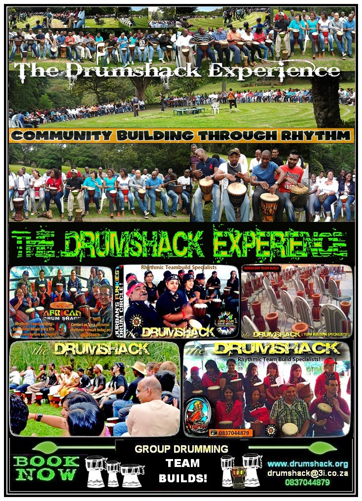DRUMSHACK  EXPERIENCE TEAM BUILDS!